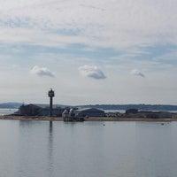 Photo taken at Southhampton Water by Gary W. on 8/29/2013