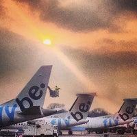 Photo taken at Southampton Airport (SOU) by Gary W. on 3/28/2013
