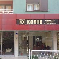 Photo taken at KONUK MÜHENDİSLİK SAN.TC.LTD.ŞTİ by Özgür G. on 12/5/2013