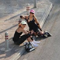 Photo taken at Limassol Friday Night Skate by Eva E. on 9/5/2014