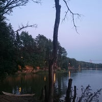 Photo taken at Озеро в Красногорском лесу by Pavel G. on 8/3/2014