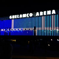 Photo taken at Ghelamco Arena by Magali G. on 10/6/2013