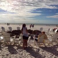 Photo taken at Sandpearl Resort Beach by Lisa P. on 11/29/2013