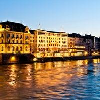 Das Foto wurde bei Les Trois Rois von The Leading Hotels of the World am 5/22/2013 aufgenommen