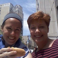 Photo taken at DOH HOT DOG CART by Marlene L. on 6/27/2014