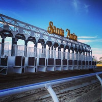 Photo taken at Santa Anita Park by Christopher D. on 2/16/2013