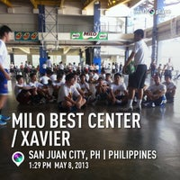 Photo taken at Xavier School Wooden Court by mon_08 s. on 5/22/2013