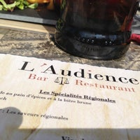 Photo taken at L'audience by Romain. D. on 5/3/2013