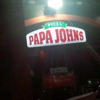 Photo taken at Papa John's by sarah H. on 7/13/2014