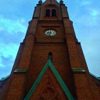 Photo taken at Uranienborgparken by Mike B. on 8/21/2014