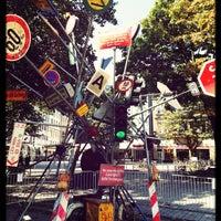 Photo taken at Friesenplatz by Michael D. on 9/7/2013