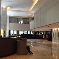 Photo taken at New World Makati Hotel by RVHalili on 6/19/2013