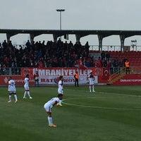 Photo taken at Ümraniye İlçe Stadı by Fuat A. on 4/23/2017