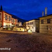 Photo taken at Αρχοντικό Ωρολογόπουλου by Byte1 T. on 2/3/2014