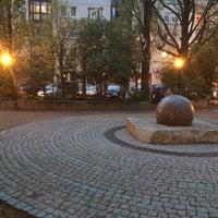 Photo taken at Martin-Luther-Platz by Alexander S. on 4/20/2014
