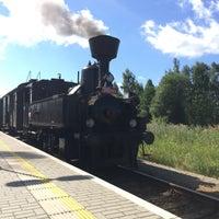 Photo taken at Železniční stanice Horní Planá by Gabriela J. on 7/26/2015