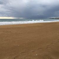 Photo taken at Pegasos Royal Beach Bar by Selim on 11/30/2016
