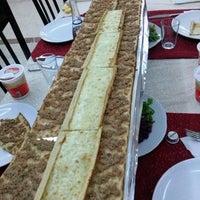 Photo taken at Konya Evi Pide Salonu by Asli I. on 2/16/2014