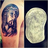 Photo taken at chelo tattoo artist by Fernando R. on 7/11/2014