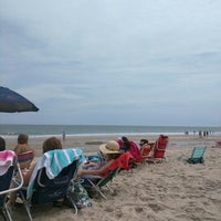 Photo taken at 20th St Beach by Virginia D. on 7/4/2016