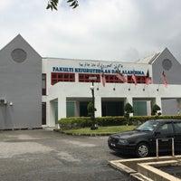 Photo taken at Fakulti Kejuruteraan dan Alam Bina UKM by Muhammad Rushdi I. on 10/28/2016