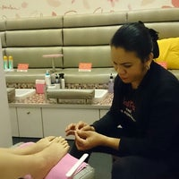 Photo taken at The Nail Parlour by Kitten H. on 1/21/2014
