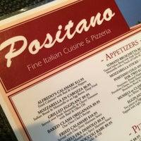 Photo taken at Positano Restaurant & Pizzeria by Mike V. on 6/16/2014