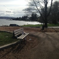 Photo taken at Seward Park by Ed on 3/17/2013