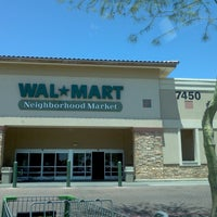 Photo taken at Walmart Neighborhood Market by Crystal E. on 5/12/2013