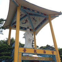 Photo taken at Stanley Kwun Yum Temple by Leung T. on 7/6/2014