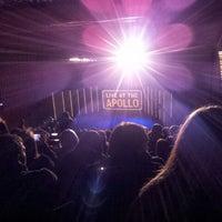 Photo taken at Eventim Apollo by David C. on 9/24/2012