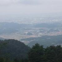 Photo taken at こんぜ山頂上 by Izuru K. on 6/22/2014