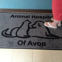 Photo taken at Animal Hospital Of Avon by Emily S. on 6/22/2013