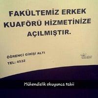 Photo taken at Mühendislik Fakültesi Kantin by Elif A. on 3/10/2016