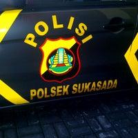 Photo taken at Mapolsek Sukasada by Komang A. on 10/22/2012
