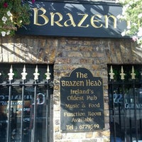 Photo taken at The Brazen Head by Dan H. on 10/12/2012