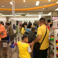 "Photo taken at Cashier 29, Carrefour LB Bulus by Evan ""Ungke"" Budiman on 8/6/2013"