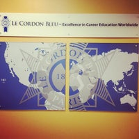 Photo taken at Le Cordon Bleu College of Culinary Arts in Orlando by Lily S. on 1/18/2014