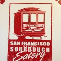 Photo taken at San Francisco Sourdough by Ryan M. on 2/4/2013