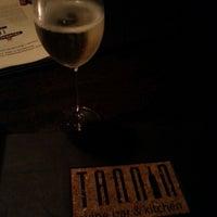 Photo taken at Tannin Wine Bar & Kitchen by Jessica B. on 6/30/2013