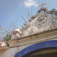 Photo taken at Capela de Santa Luzia by Ruana O. on 11/11/2015