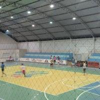 Photo taken at Ginasio Poliesportivo Ivanildo Bezerra da Silva by Artur A. on 5/19/2014