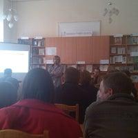 Photo taken at Львівська Обласна Універсальна Наукова Бібліотека by Тарас Я. on 4/5/2014