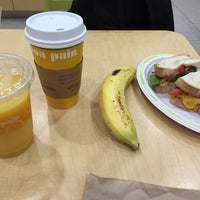 Photo taken at Au Bon Pain by Victor C. on 9/27/2015
