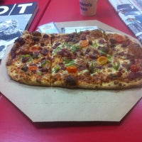 Photo taken at Domino's Pizza by Muharrem S. on 2/27/2015
