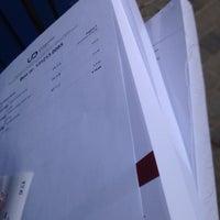 Photo taken at Universitas Digital Printing by Sander D. on 12/13/2013