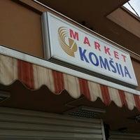 """Photo taken at Market """"KOMŠIJA"""" by Goran P. on 2/19/2014"""