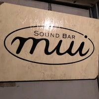 10/7/2017にk_slashがsound bar muiで撮った写真