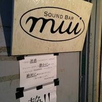 4/5/2014にk_slashがsound bar muiで撮った写真