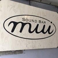 6/19/2016にk_slashがsound bar muiで撮った写真